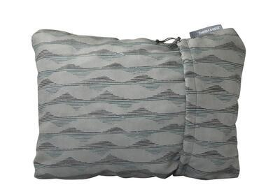Compressible Pillow šedý L